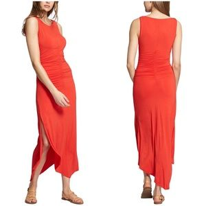 Sanctuary Samba Midi Tank Maxi Summer Ruched Dress